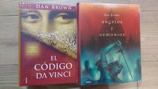 Libros: El Código Da Vinci + Ángeles Y Demonios-ilustrados