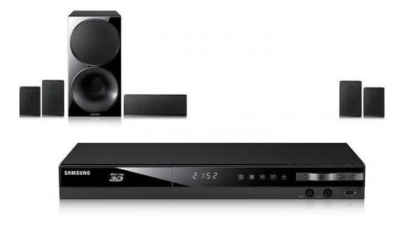 Home Theater Samsung E4500k 5.1 Canais Com Blu-ray Player 3d