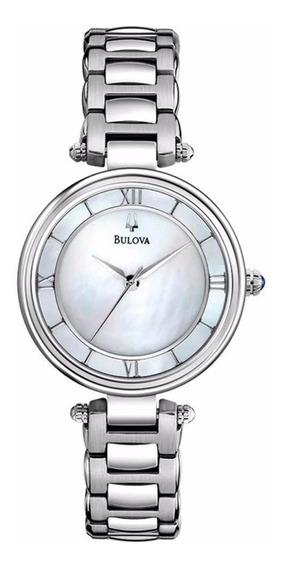 Relógio Feminino Bulova Analógico Wb27725q - Super Promoção!