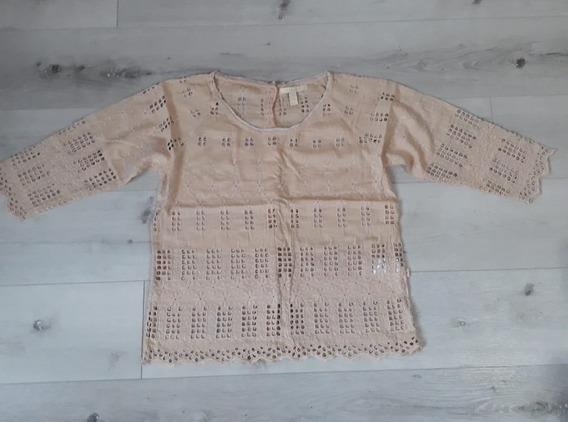 Camisa Kosiuko De Broderie Talle S / 40 (no Rapsodia)
