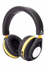 Headphone Bluetooth Gt Follow Goldentec Amarelo (gt5btam)