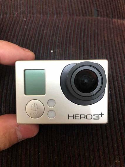 Gopro Hero 3+ Silver Edition Estado De Nova