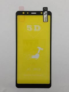 Película Gel 5d Preta Samsung A7 2018