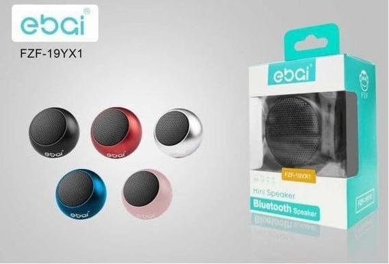 Mini Caixa De Som Ebai Fzf-19yx1 Portátil Bluetooth