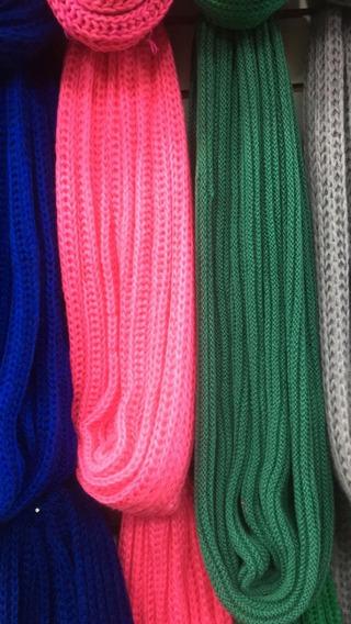 Bufandas Infinitas Varios Colores, Mayorista