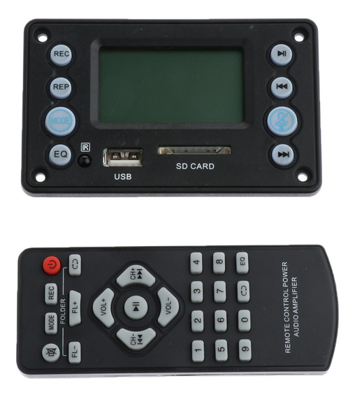 Dc 12v Bluetooth 4.0 Áudio Ape Flac Wav Wma Mp3 Decoder Boar