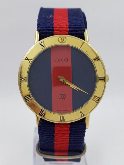 Reloj Gucci 3000 M Quartz Dorado Unisex Baroncelli Omega Mid