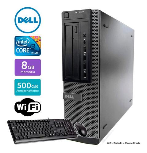 Computador Usado Dell Optiplex 7010 I3 8gb 500gb Brinde