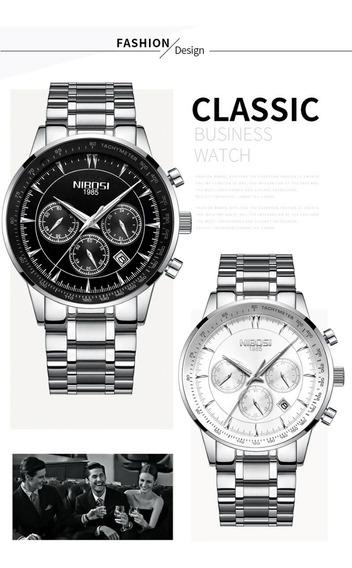 Relógio Nibosi - 44mm - Hardlex