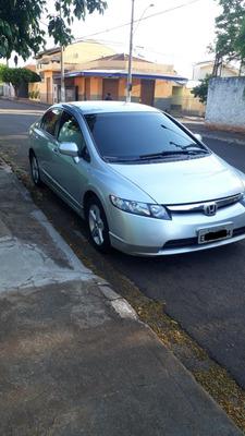 Honda Civic 08/08 Automático Prata - Ourinhos