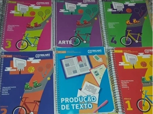 Kit Trilhas Sistema De Ensino, 7° Ano Completo