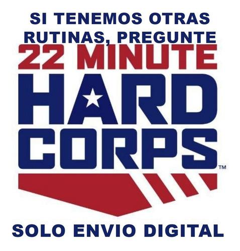 22 Minute Hard Corps Ejercicio En Casa Sin Pesas Fitness Gym