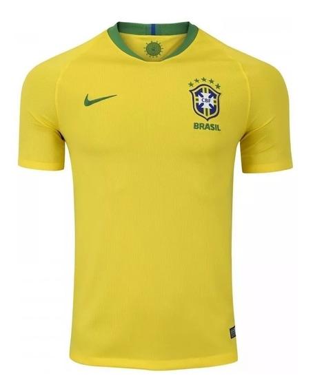 Camisa Seleção Brasil 2018 Copa Do Mundo
