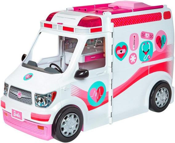 Barbie Ambulância E Hospital Móvel Da Barbie Mattel