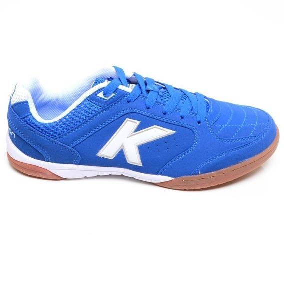 Chuteira Futsal Precision Kelme Azul