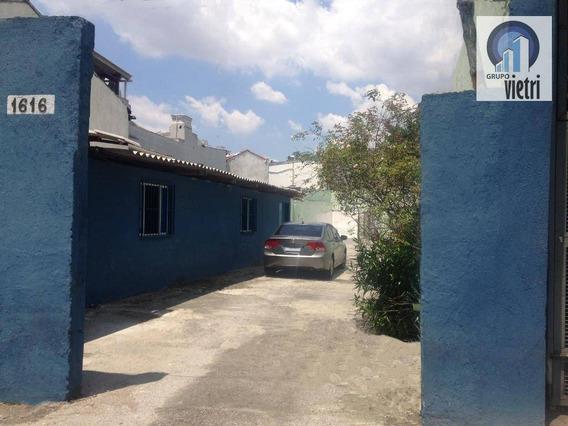Estacionamento, Com Escritório De 3 Salas, E 2 Banheiros. Localização Excelente De Fácil Acesso As Principais Vias, Com A Melhor Localização Da Mooca - Te0605
