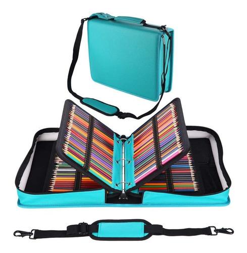 Shulaner - Estuche Organizador Para Lapices De Colores, De