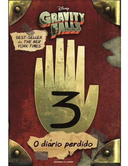 Gravity Falls Diário 3 - Livro Capa Dura - Original