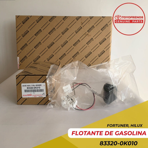 Flotante De Gasolina Fortuner Hilux Kavak Hilux 2.7 Original