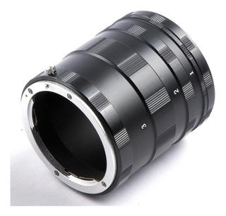 Tubo Extension Manual Macro Para Canon Amplificacion