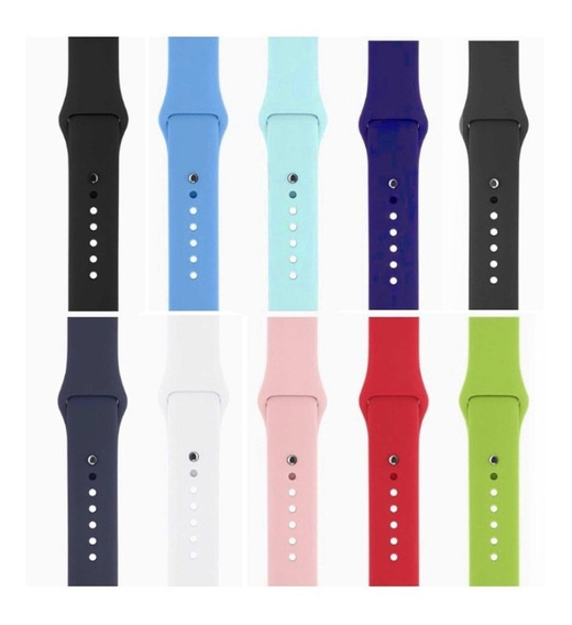 Pulseira Sport Silicone Apple Watch 38mm Series 1 2 3