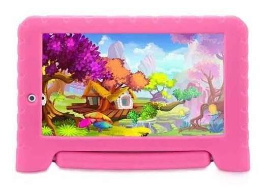 Tablet Multilaser Kid Pad Plus Quad Core Tela De 7 Wifi 8gb