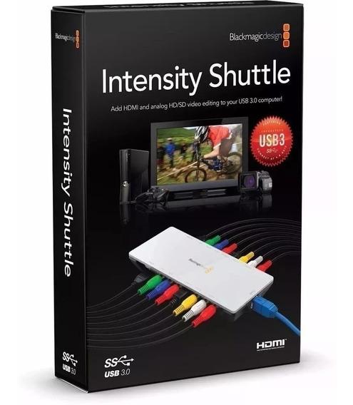 Placa De Captura Hdmi Blackmagic Intensity Shuttle Usb 3.0