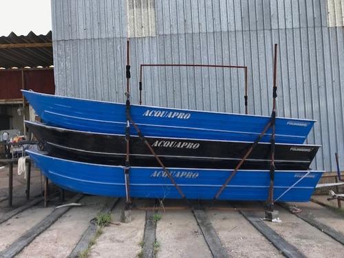 Imagen 1 de 4 de Bote Aluminio Polimarine Acquapro Caza Rio Pesca Nautica