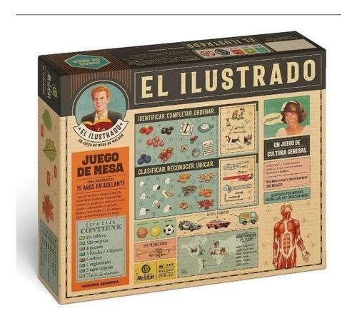 El Ilustrado Juego De Mesa Maldon Original Lloretoys