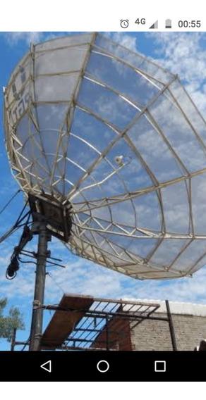 Antena Parabolica Santa Rita 3.60m