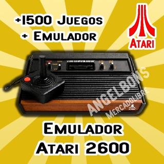 Colección +1500 Juegos De Atari 2600 + Emulador Pc Android