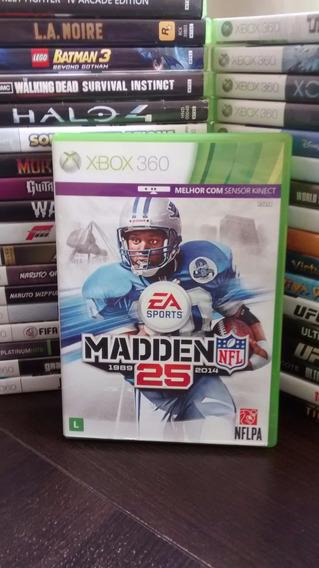 Madden Nfl 25 2014 Futebol Americano Xbox 360 Frete 12