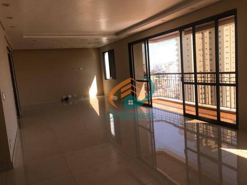Imagem 1 de 21 de Apartamento À Venda, 175 M² Por R$ 1.300.000,00 - Tatuapé - São Paulo/sp - Ap4114