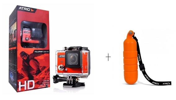 Camera De Ação Atrio Hd 720p + Acessorio Flutuante - Dc186