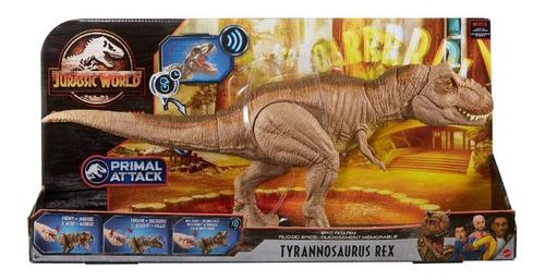 Imagen 1 de 5 de Dinosaurio Tiranosaurio Rex Jurassic World Tyrannosaurus