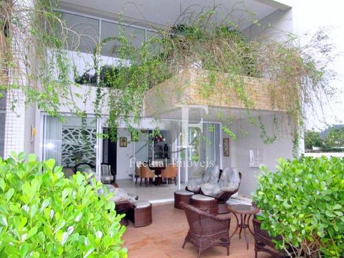 Casa Com 5 Dormitórios À Venda, 421 M² Por R$ 3.500.000,00 - Balneário Praia Do Pernambuco - Guarujá/sp - Ca2878