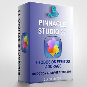 Pinnacle Studio 22 - Completo + Adorage + Envio Rápido!