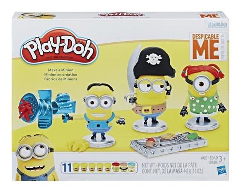 Play-doh Fabrica De Minions Villano Favorito Has B9742 Edu