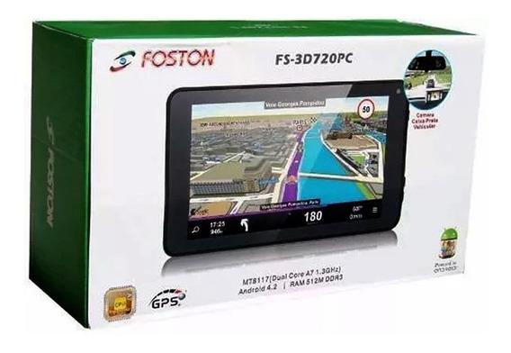 Tablet Gps Foston Fs-3d720pc 7pol 4gb Dc1.3ghz Wifi 512m Ram