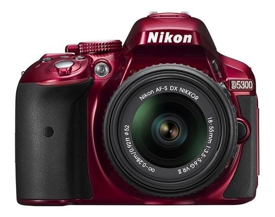 Camara Reflex Profesional Nikon D5300 18-55 Kit Factura