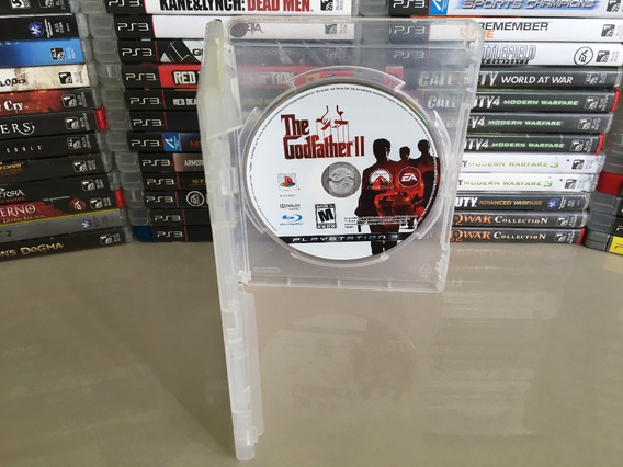 The Godfather 2 Ps3 - Semi Novo - Original - Dvd