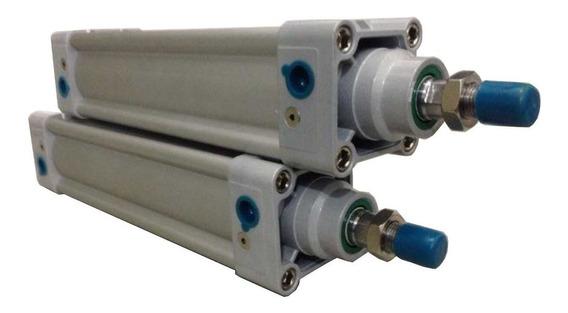 Cilindro Pneumático Iso 6431 Dupla Ação Ø80 X 350mm Curso