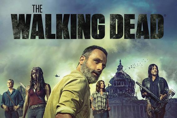 Serie The Walking Dead ( 8ª E 9ª Temporada ) + Frete Grátis