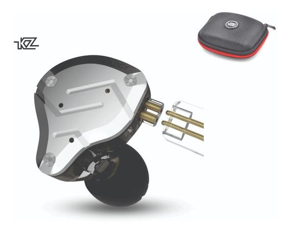 Fone Zs10 Pro Original Kz 10 Driv Palco + Case