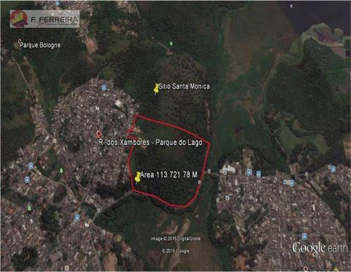 Área À Venda, 113721 M² Por R$ 8.000.000,00 - Parque Do Lago - São Paulo/sp - Ar0018
