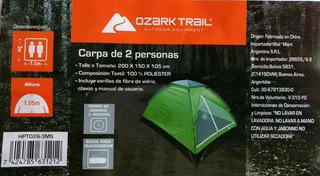 Carpa Para 2 Personas Ozark Trail