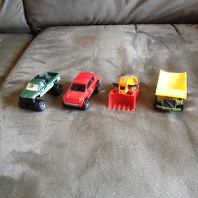 Colección 4 Carros Matchbox, Excelentes Condiciones Y Precio