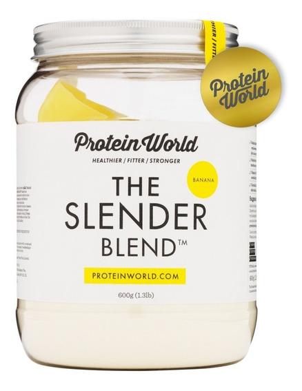 Proteína The Slender Blend Plátano 600gr Protein World