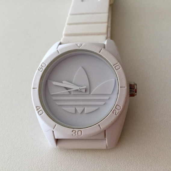 Relógio adidas Santiago Branco Original Importado Do Japão