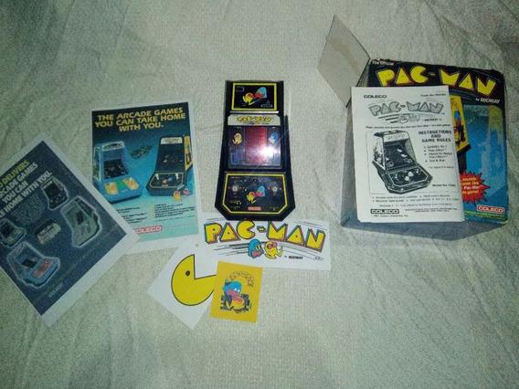 Pac Man Mini Arcade Midway Coleco Raro Na Caixa!!